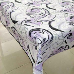 Mantel arabesco lila